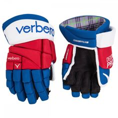 Verbero Dextra Pro + Senior Ice Hockey Gloves