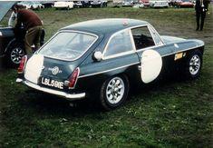 MGB GT factory race car
