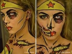 Image result for zombie wonder woman