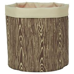 Reversible Canvas Floor Bin Round Woodgrain - Pillowfort™ from Target for kids room Camping Bedroom, Camping Nursery, Kids Bedroom, Bedroom Ideas, Nature Bedroom, Boy Bedrooms, Camping Theme, Fox Nursery, Girl Nursery