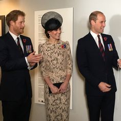 William, #Kate and Harry inside the #Thiepval museum #Somme100 #LestWeForget