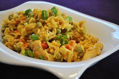 Schon seit einiger Zeit hatte ich mal wieder Lust auf einen Reissalat - gibt es ihn doch viel zu selten! Dieses Mal in der Variante m...