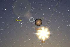 Sun & Saturn eclipse 10/27/12 6:45 AM