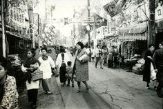 仲宿商店街昭和38年 板橋区 1963