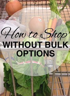 What if you want to reduce your waste, but you don't have any bulk options in your town?