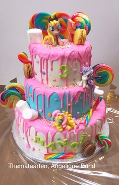 My Little Pony Cake Made By Angelique Bond 4th BirthdayBirthday PartiesMy
