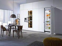 Kjøleskap Pink Houses, Energy Consumption, Wine Storage, Modern Kitchen Design, Glen Ellen, The Unit, Refrigerators, Cabinet, Kitchen Inspiration