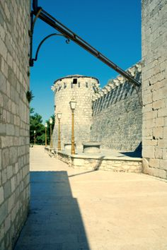 Island of Krk, Croatia, fortifications dating from Medieval times