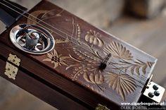 Miku 3 Zakopane 1955 #0012 cigar box guitar