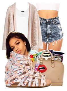 """♡"" by miss-trillest ❤ liked on Polyvore featuring ATM by Anthony Thomas Melillo"