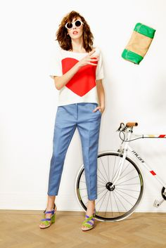 I want to ride my bicycle - Essentiel SS12