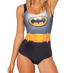 Batman/Batwoman swimsuit <3