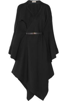 Wool-twill cape by Marni