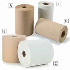 Paper Towel Rolls - Kraft by C $59.60. Biodegradable towels dry your hands with less waste.