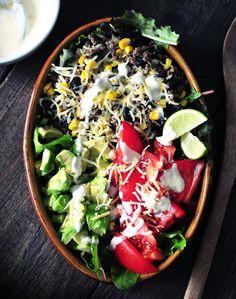 Mexicaanse gehaktsalade
