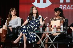 """""""How about just 'strong character?'"""" offered Emmy Rossum, who plays Shameless's Fiona Gallagher. """"I've never heard anybody say 'strong male character.' Nobody talks about that at all. I guess men have always been No. 1 on the call sheet, but now women are and that's great. So let's not make it a gender thing."""""""