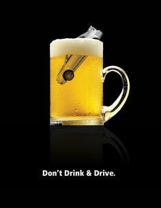 drunk driving by inkpenpaper on DeviantArt Creative Poster Design, Ads Creative, Creative Posters, Graphic Design Posters, Clever Advertising, Car Advertising, Advertising Design, Drunk Driving, Driving Tips