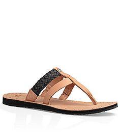 UGG Audra Thong Sandals #Dillards