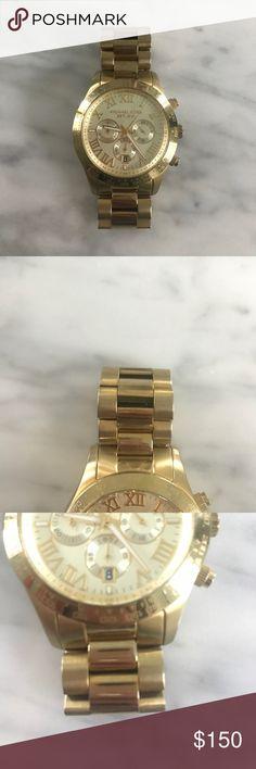 Michael Kors Watch Michael Kors Gold Watch- Needs a Watch battery Michael Kors Accessories Watches