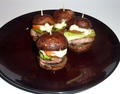 images of asian appetizers | ... asian infused, mushroom bunned, savory sensations. Impress friends and
