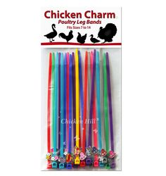 Chicken Charm Leg Bands