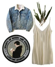 """""""iv"""" by tarotwhore ❤ liked on Polyvore featuring Organic, Levi's, women's clothing, women, female, woman, misses and juniors"""