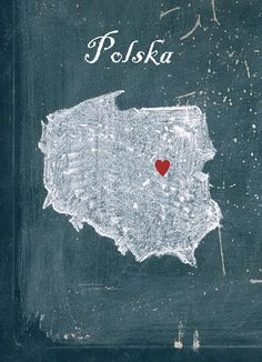 Customizable map of Poland, Home is where the heart is, Poland, Polska, home… Poland Travel, Poland Map, Italy Travel, Visit Poland, Photos Voyages, My Roots, Thinking Day, My Heritage, Krakow