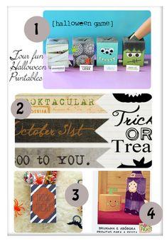 4 Fun {& free} Halloween Printables · Scrapbooking   CraftGossip.com