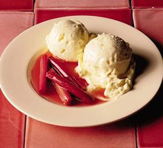 clotted cream and ginger ice cream (to make when access to Marks and Sparks is available)
