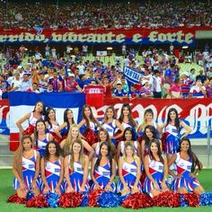 Fortaleza. #cheerleaders #leoninasfec #fortalezaec