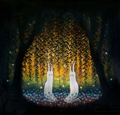Andy Kehoe's 'Mutual Enchantment' from 'Into The Depths' coming this July to Thinkspace by thinkspace_gallery, via Flickr