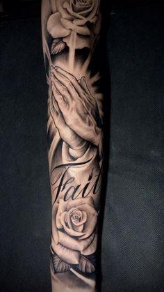 Arm Sleeve Tattoos For Women, Half Sleeve Tattoos Forearm, Hand Tattoos For Women, Best Sleeve Tattoos, Tattoo Sleeve Designs, Forearm Tattoos For Men, Chicanas Tattoo, Forarm Tattoos, Jesus Tattoo