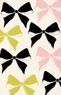 Bows #pattern #print #wallpaper #texture