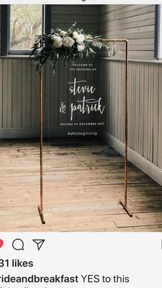 Modern Wedding Inspiration, Industrial Welcome Sign, Wedding Planning Tips, Bride, Wedding Decorations, Wedding Decor, Wedding, - Charming Grace Events https://www.charminggraceevents.com/