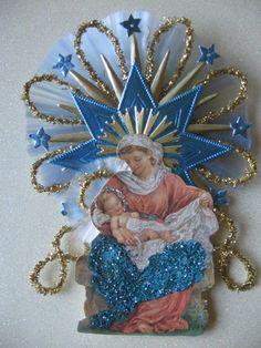 Vintage Look Victorian Christmas Ornament