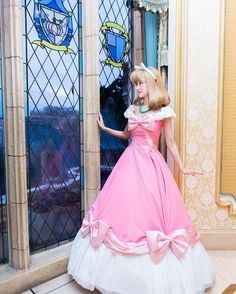 Cinderella Pink Dress, Cinderella Cosplay, Disney Princess Dresses, Disney Dresses, Cosplay Anime, Disney Cosplay, Best Cosplay, Cinderella Original, Disney World Characters