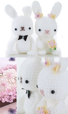 Wedding Rabbits.  But I think this pattern is great for any occasion.  Pattern link here:   http://gosyo.co.jp/english/pattern/eHTML/ePDF/1012/4w/27-528W_Yuttari_Acrylic_Wedding_Rabbits.pdf