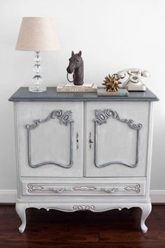 Antique French cabinet painted with Annie by LauraRubioInteriors, $510.00