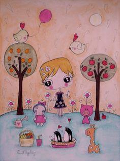 LittleGirlWithDoll-Jana Magalhães