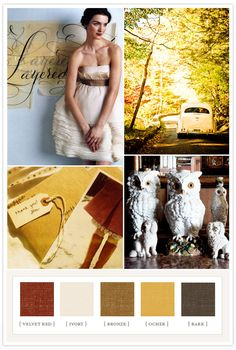 pretty colors for a fall wedding