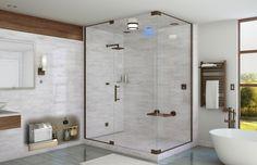 like the steam showers soaking tub orientation