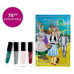 Julep 75th Anniversary Wizard of Oz Collection Special 4 Nail Colors Polish Set  #JULEP