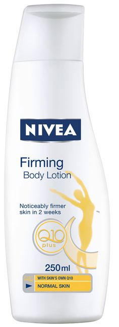 Nivea Firming Body Lotion + Q10........theres nothing better out there!!!!!!!