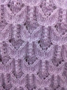 Just the photo no pattern. Can't tell if the garter stitch is a neck band or an armhole. The lace is nice Lace Knitting Stitches, Easy Knitting Patterns, Knitting Charts, Knitting Designs, Baby Knitting, Stitch Patterns, Diy Crafts Dress, Knit Vest Pattern, Knitted Blankets