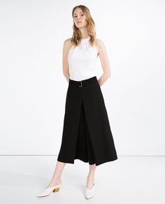 Image 1 of CULOTTES from Zara