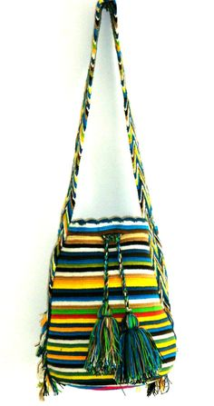 Gorgeous Boho Bag Wayuu BagColombian Bags by Machilabags on Etsy