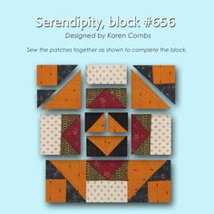 100 Blocks Sampler Sew Along   Block 13 + Giveaway