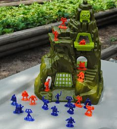 Fantasy Toy Soldiers: DURHAM INDUSTRIES: The Fantasy Fortress