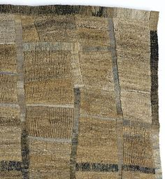 Sue Lawty | intersect | hemp, linen, silk, wool