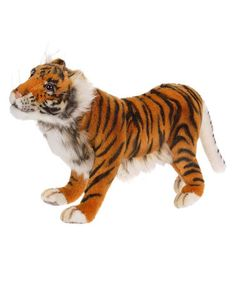 Caspian Tiger Collectible Plush Toy by Hansa Toys #zulily #zulilyfinds